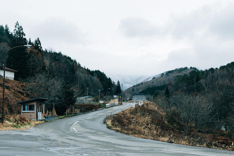 JR高山駅から車で約1時間半のところにある山之村。