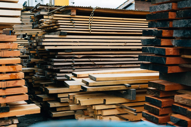 木材置き場