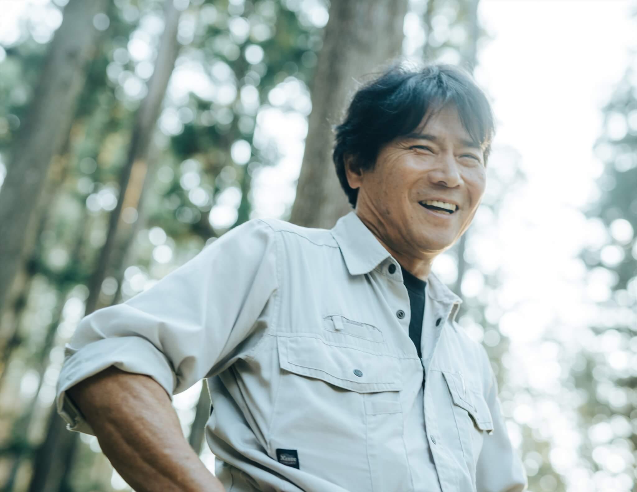 根羽村森林組合の参事を務める今村さん。東京出身