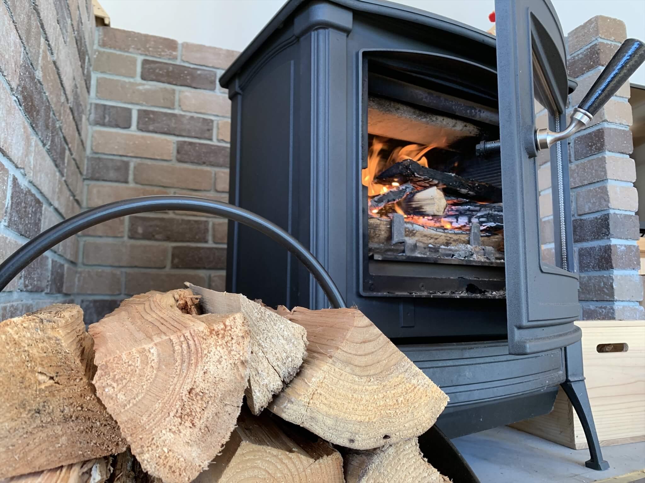 薪ストーブに栗の木や里山の雑木をどんどん使おう!